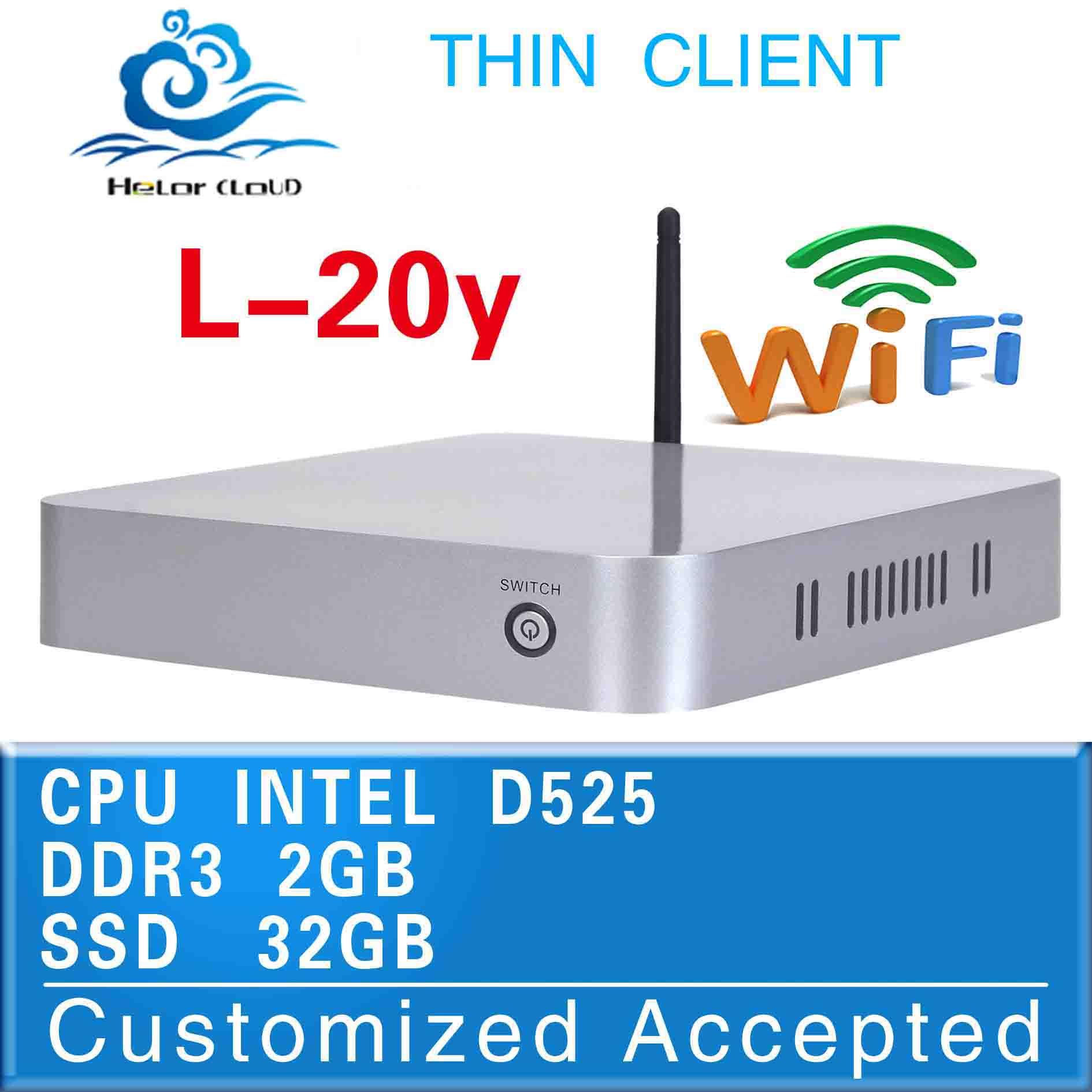 desktop computer computer networking D525 network computer support touch screen(China (Mainland))