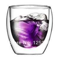 Double Wall Pavina glass Espresso Shot Glass Cup 250ml free shipping