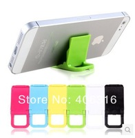 Free shipping by China post! Phone holder for Apple iPhone5 5S 5C 4S HTC Samsung phone mini stand lazy small bracket