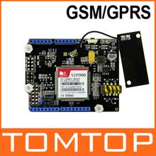 GSM/GPRS Shield V2.0 SIM900 Quad-Band Wireless Module Development Board for Arduino(China (Mainland))