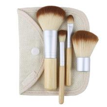 cheap bamboo brush set