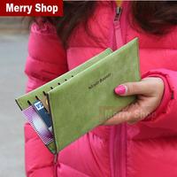2014 Women Brand Wallets Famous Designer PU Leather Purses Multi Colors Women Wallets Free Shipping