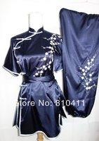 customized women black Plum blossom embroidery martial arts uniform sport suit women