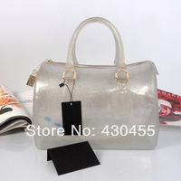 2014 New Design flash furly candy handbags handbag wholesale ladies handbags,women candy glitter jelly handbags- free shipping