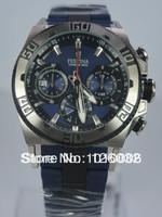 Festina 2013 Chrono Bike F16659-2 Men's Blue Dial Blue Rubber & Steel Bracelet Quartz Watch F16659/2