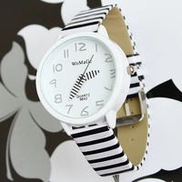 Free shipping womage women's dress watch zebra jelly color men sports watches quartz watch cheap wristwatches watch women