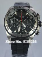 Festina Tour Chrono 2013 Herren Uhr F16659-5 Men's Black Dial Black Rubber & Steel Bracelet Date Watch F16659/5