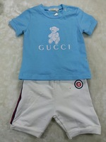 Now 2014 fashion boy's short sleeve t-shirt and short pants color boy's  sets ,kids ,Popular children summer clothes,boy's  sets