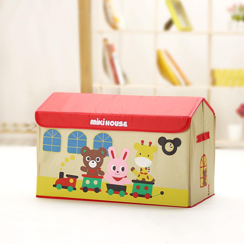 Cartoon toy storage box large storage box storage box finishing box Large toy storage(China (Mainland))