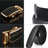 2014 Men's Belts Mens Belts Luxury Cintos Strap Transport Belt  Jaguar Real Leather for 4 styles