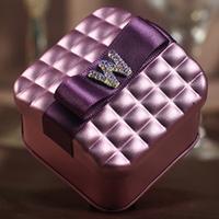 2014 Hot sale freeshiping European Water Cube shape tin candy box wedding favour gift box wholesale iron