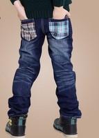 Spring 2014 new children's clothing boyswild baby jeans children trousers new Korean version