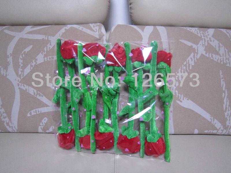 30cm plush flower plush rose multiple- function flower used as curtain pin 10 pcs free shipping(China (Mainland))