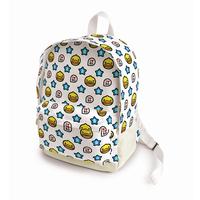 Semk b.duck  decorative pattern canvas backpack school bag