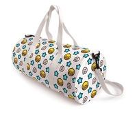 Semk gift b . duck duckling cylincler canvas shoulder bag messenger bag