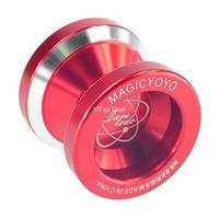 Free shipping Red Fashion Magic YoYo N8 Dare To Do Alloy Aluminum Professional Yo-Yo Toy