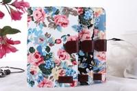 NEW Case for Samsung Galaxy Tab 3 Lite 7.0 T110,  Flower Canvas Case for Samsung Galaxy Tab 3 Lite 7.0 T110 With Card Holder