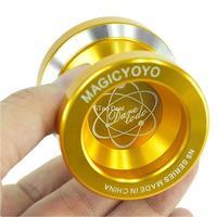 Free shipping Gloden Fashion Magic YoYo N8 Dare To Do Alloy Aluminum Professional Yo-Yo Toy