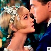 New 2014 Fashion  Wedding Bridal Hair Accessories  Hair Jewelry Crystal Vintage High Quality Headbands Headwear