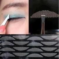 120pcs/5 packs  Gauze mesh lace stick Stealth double-fold eyelid sticker without glue Free Shipping