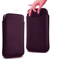 1pcs  bulk novelty new pu Leather PU Pouch Case Bag for fly iq4403 Energie 3 Cover with Pull Out Function phone cases