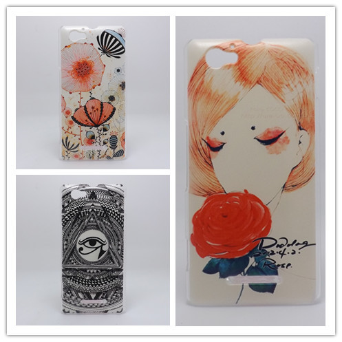 ... Painting Hard Plastic Phone Case Cover For Sony Xperia M Dual