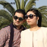 2014 anti-uv sunglasses sun glasses fashion all-match personality sunglasses