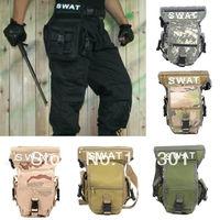 SWAT MULTI-PURPOSE OUTDOOR CS Tactics LEG DROP UTILITY BAG THIGH PACK FANNY PACK