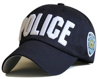 Wholesale 2014 New cap 100% cotton NYC POLICE embroidery baseball cap Classic White cap hat Drop Shipping
