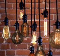 E27 220V Edison bar shop pendant lighting
