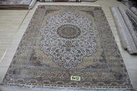 Oriental Carpet Shag Rug For Home Handmade Rug Persian Silk Rug And Carpet For Living Room Carpet For Child Bedroom 9x12 On Sale