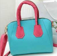 2014 new tide women messenger bag sweet candy color hand the bill of lading shoulder slope across packages,BAG140