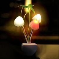 novelty sconce wall nightlights ornamental flowerpot wall lamps solar 110-220V  0.2w led lights twilight fixtures children toys