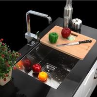 7543L  304grade stainless steel single bowl UNDERMOUNT Kitchen Sink
