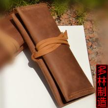 popular genuine leather pen case