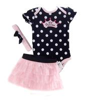 Baby butterfly headdress & Baby Boy's Girl's Dress Suits Romper Type H6323 1LOT/6PCS