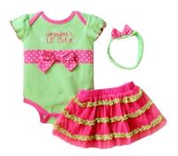Baby butterfly headdress & Baby Boy's Girl's Dress Suits Romper Type H6329 1LOT/6PCS