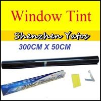 Car Solar Protection Glass Window Heat Insulation Window Tint Foil Light Black 40% 50CM*300CM