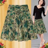 2014 women's OL outfit casual chiffon skirt midguts bust skirt a-line skirt summer