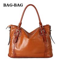 2014 New Luxury Boutique Women Large Handbag Top Grade Genuine Leather Shoulder bag Real Cowhide skin Retro Belt Fashion B355