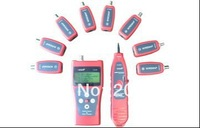 Free shipping !  NF-388 Multipurpose LAN Cable Tester Network Telephone Cable with 8 Remote Identifier English Interface