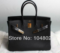 2014 Brand Name 30cm Togo Leather Tote Best Quality Genuine Leather 30cm Tote Luxury 1:1 Brand Handdags Wholesale Price