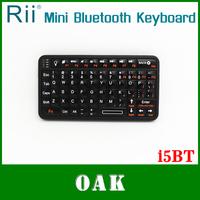 Free Shipping - Original Rii Tek RT-MWi5BT Mini QWERTY Bluetooth Keyboard for Phone/Android TV Box/Tablet High Quality