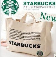 Starbucks canvas bag handbag shoulder cross bags bags
