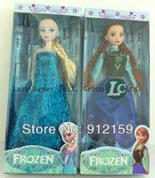 Free Shipping Frozen Figure Play Set Anna Elsa Hans Kristoff Sven Olaf Set Classic Toys Anna Frozen Toys Dolls 2pcs/lot