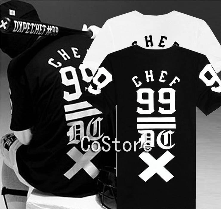 2014 New Summer Hot Fashion DXPE CHEF 99 Street Dance Dancer Tshirt 100% Cotton Pullovers Tee Baseball Sports Shirt for Men(China (Mainland))