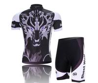 Wholesale New Hot sale men sportswear road Cycling Clothing apparel wear Bicycle Cycling Jersey + Bib Shorts short sleeve CJ014