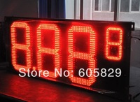 LED Gas Price display 16 inch 8.889(half 9) red  Color, LED Price Changer,LED gas Display,High Brightness