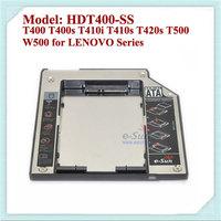 2nd HDD  Hard Disk Driver Caddy SATA to SATA 9.5mm Optical for ThinkPad T400 T400s T410i T410s T420s T500 W500 for LENOVO Series