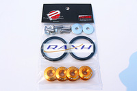 RAXH:JDM Quick Release Fasteners are ideal for front bumpers, rear bumpers, and trunk / hatch lids